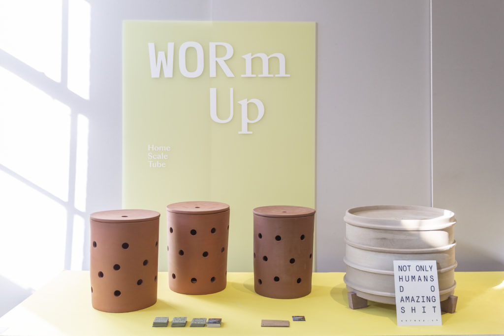 WormUp, exhibition Design Switzerland at London designjunction 2018 (c) Teo Zanin