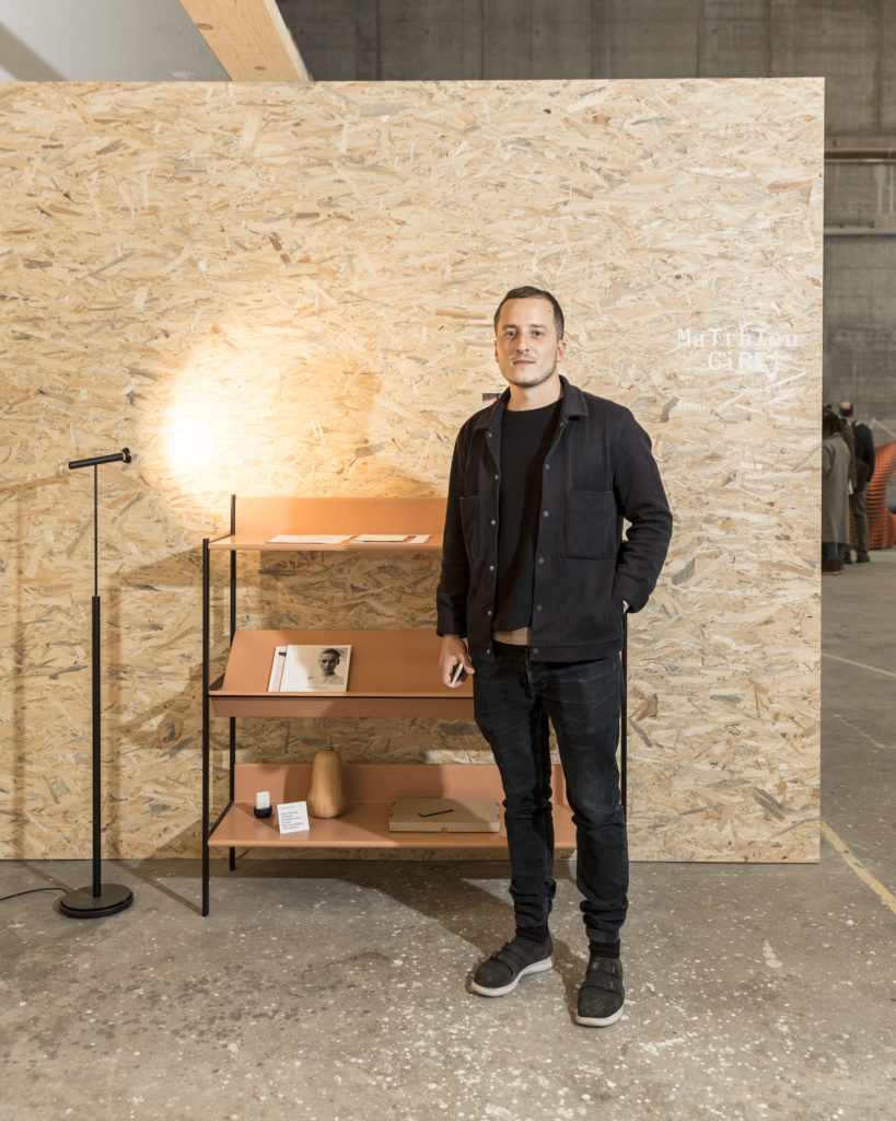 Matthieu Girel - Design Switzerland at Designers' Saturday 2018 © Nicolas Schopfer