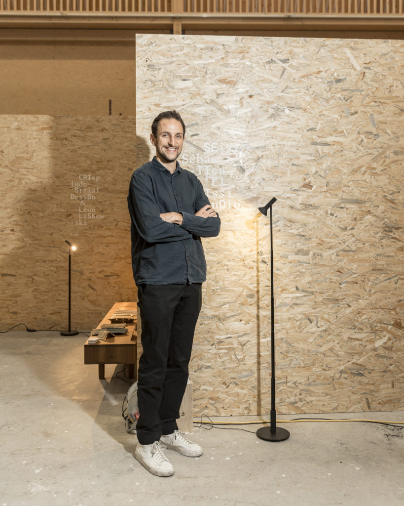 Sébastien El Idrissi - Design Switzerland at Designers' Saturday 2018 © Nicolas Schopfer