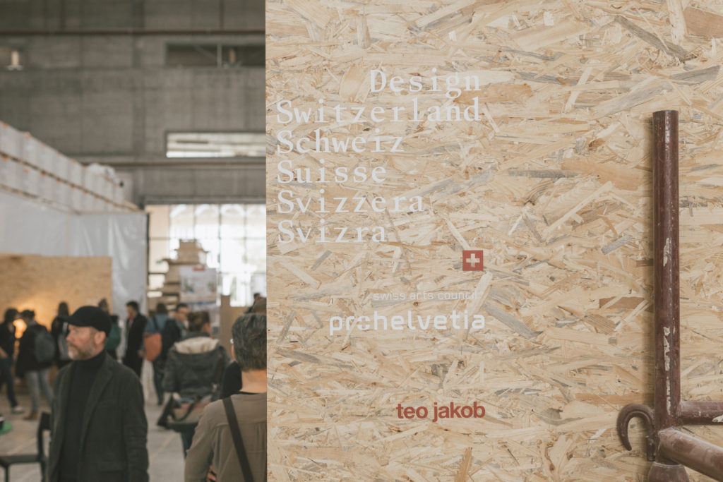 Design Switzerland at Designers' Saturday 2018 © Nicolas Schopfer
