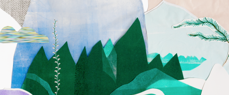 Detail of shower curtain «INSIGHT» collection © kollektiv vier