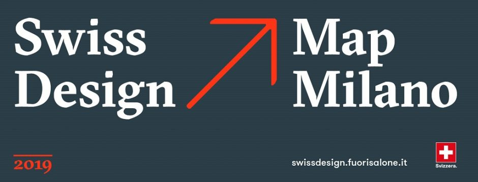 Swiss Design Map Milano